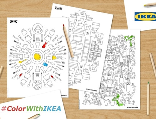 IKEA coloring book - doorsixteen.com