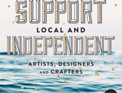 Independent Holiday - doorsixteen.com/handmade