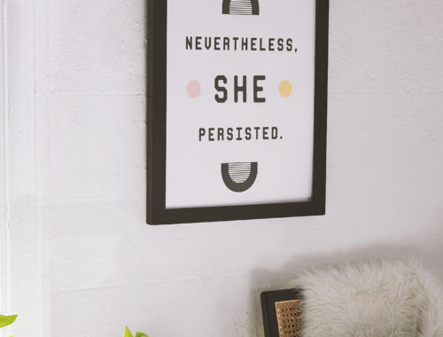 Nevertheless, She Persisted - doorsixteen.com