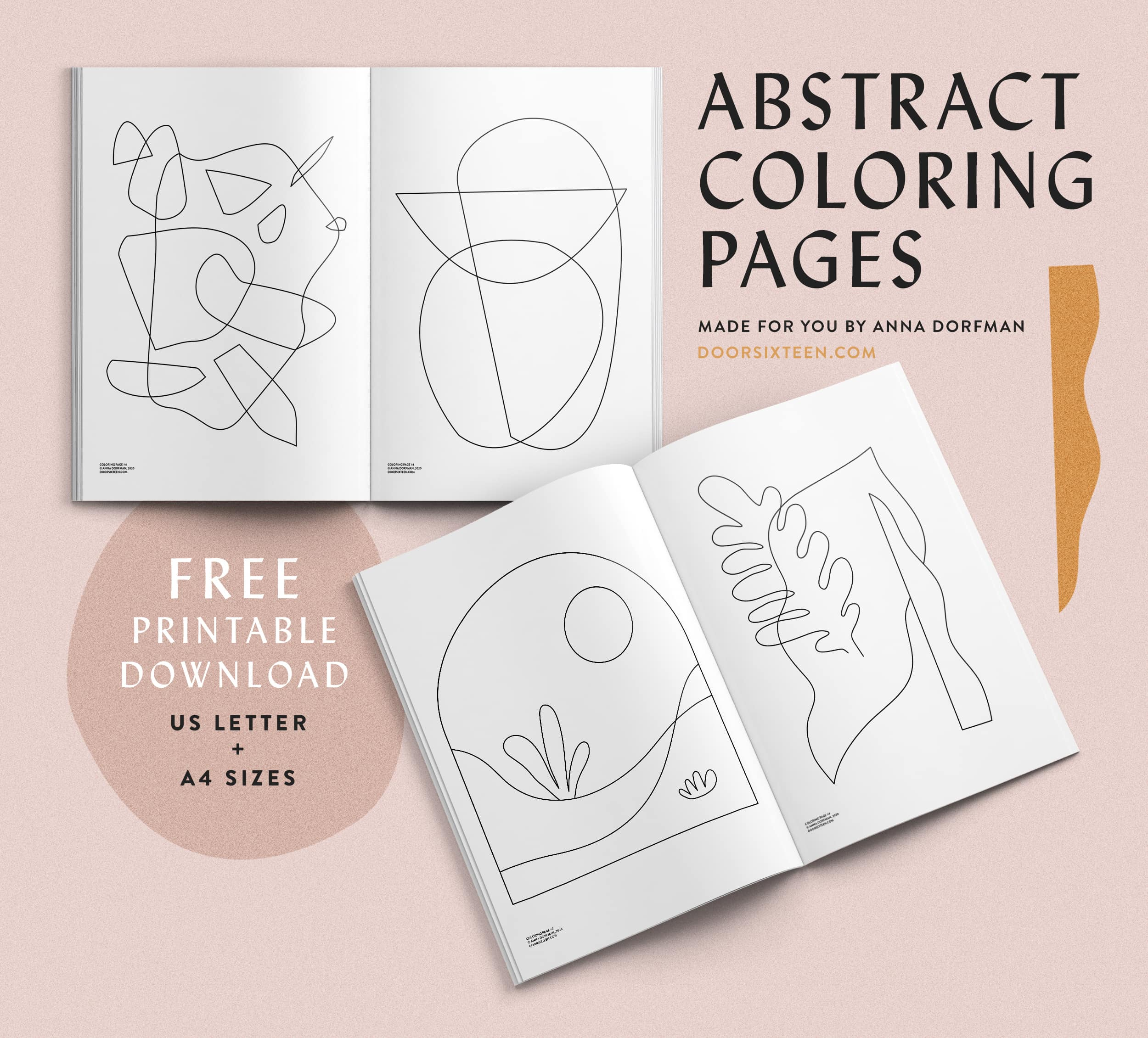 Abstract coloring pages download - doorsixteen.com